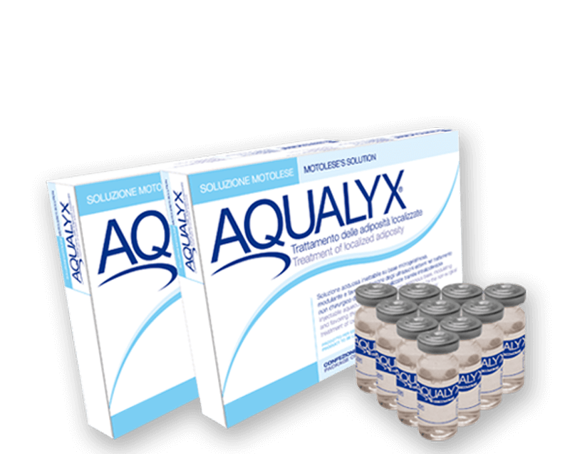 Aqualyx fat dissolving injectiions