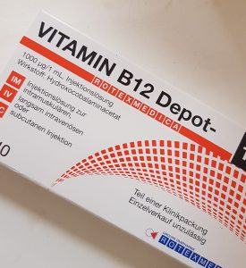 Vitamin B12 Injection in London Harley St